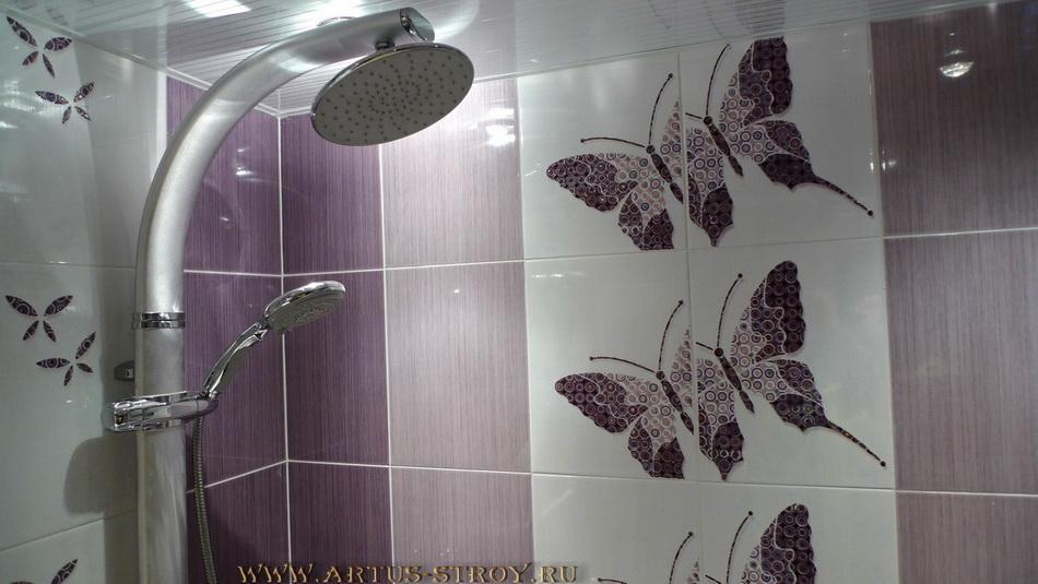 Ремонт ванной комнаты. Фото ванна